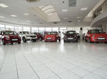 predajňa Fiat a úžitkové autá Fiat Professional Trnava